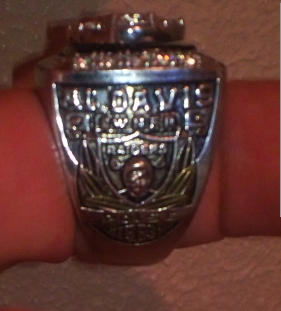 1983 Raiders Superbowl Ring